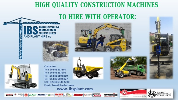 PLANT HIRE WITH OPERATOR FEB 2017